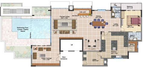 8000 square foot house plans 8000 sq ft 5 bhk 5t apartment for sale in prestige