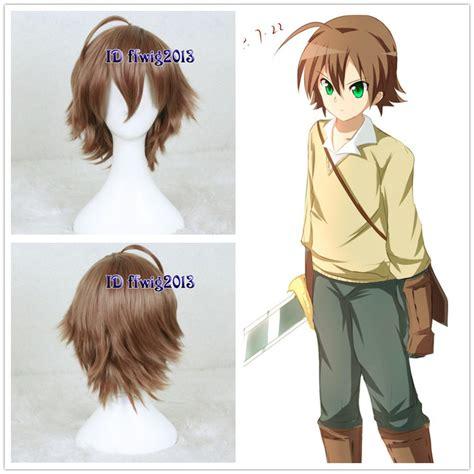 anime hairstyles cosplay anime akame ga kill tatsumi short brown bottom fluffy