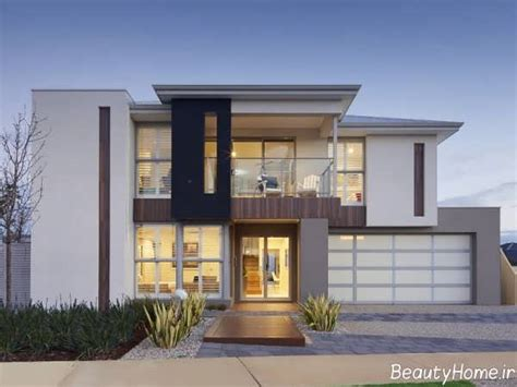 نمای ساختمان مسکونی با انواع طراحی مدرن و لاکچری