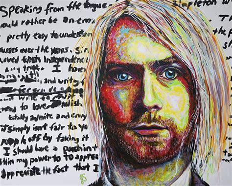 Kurt Cobain Birthday Card Kurt Cobain Suicide Note By Joyce Sherwin