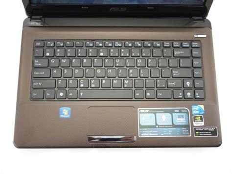 Second Laptop Asus K42j asus k42j review notebookreview