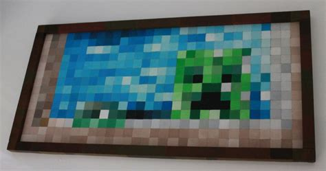 Painting Minecraft by Rab City Minecraft Painting