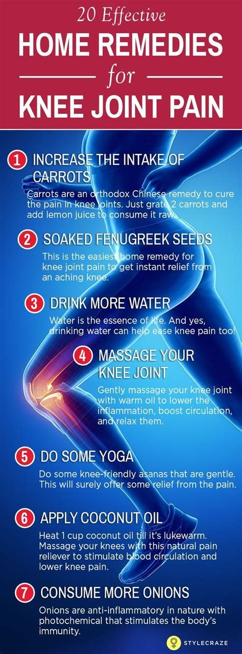 the 25 best knee remedies ideas on joint