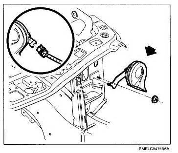 horn location on 1998 saturn get free image about wiring diagram