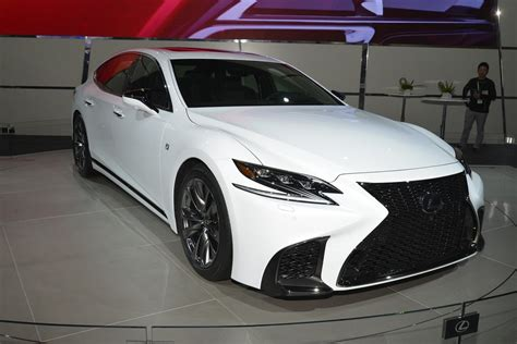 lexus is f sport 2018 2018 lexus ls f sport joins ls 500h in new york