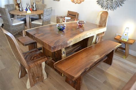 Handmade Wood Furniture - handmade chunky wood furniture best decor things