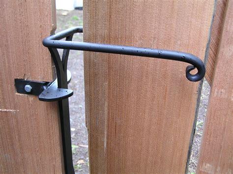 swing gate latch sprung gate latch with one way catch cedar sustainable