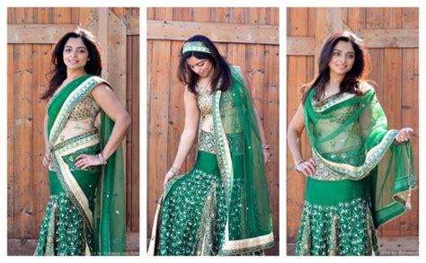 different ways to drape a dupatta drape it around runways rattles