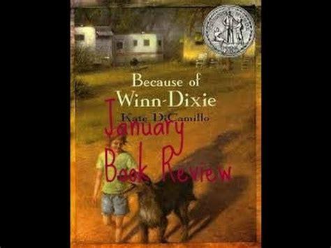 because of winn dixie book report january book review because of winn dixie