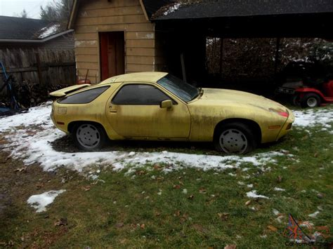 porsche 928 spares 1979 porsche 928 with additional parts car which is a