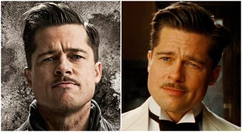 brad pitt inglorious bastard haircut how to get brad pitt s fury hairstyle pompadour hair cut
