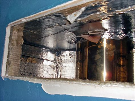 isolation cheminee plafond fissur 233 224 cause de fuites isolation insert