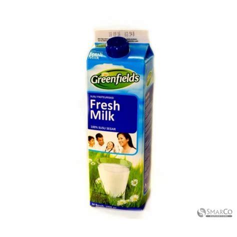 Fresh Milk Rp 13 500 detil produk greenfield fresh milk kotak 1000 ml