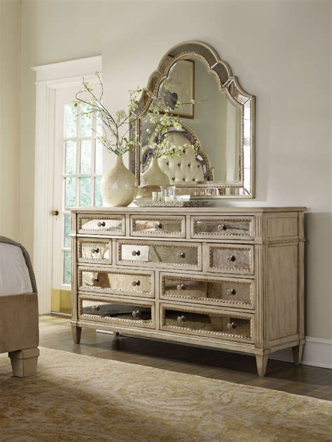 hooker bedroom furniture hooker furniture bedroom sanctuary ten drawer dresser