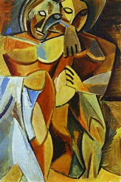 picasso paintings explanation picasso friendship