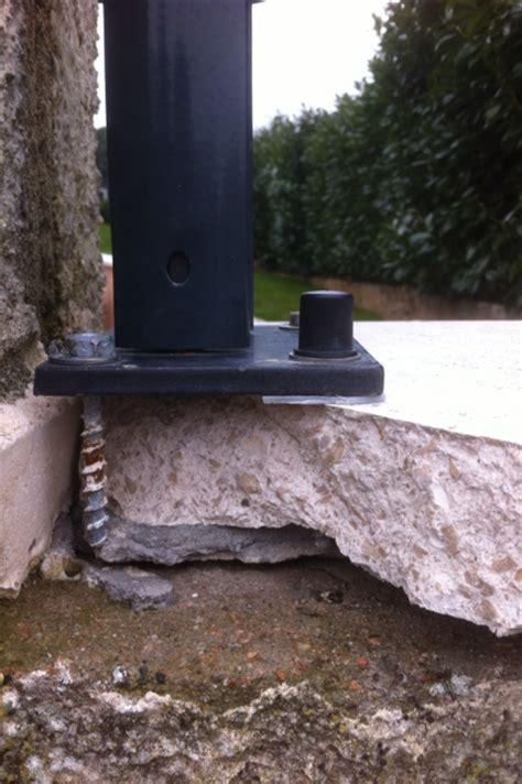 comment poser un grillage 4798 installation d un grillage rigide sur couvertine
