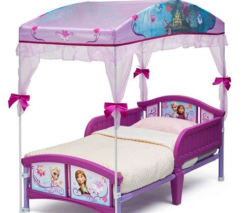 Canopy Toddler Bed Set Disney Frozen Canopy Toddler Bed Set Princess Room Furniture Bedroom New Ebay