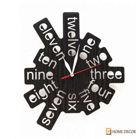 cara pembuatan jam dinding sederhana detil produk jam dinding artistik nya131003 homedecor