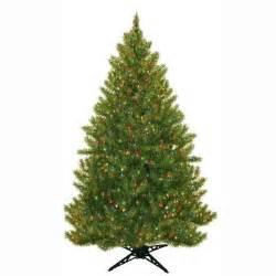 artificial trees without lights general foam 6 5 ft pre lit carolina fir artificial