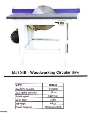 Tyes Alat Potong Pemotong Rantai Great Chain Cutter Big oscar woodworkingg circular saw type mj104b products of mesin oscar supplier perkakas teknik