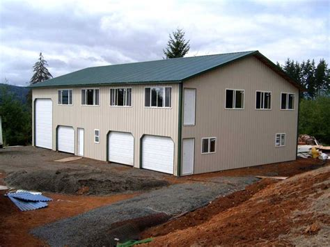 Cost Of Building A Garage Apartment by Metal Garage With Apartment Plans Iimajackrussell
