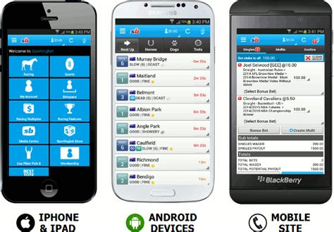 sportingbet mobile sportingbet mobile app for android and iphone