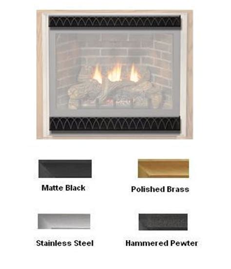 Fireplace Louvers by Empire Decorative Arch Louvers For 32 Quot Fireboxes And