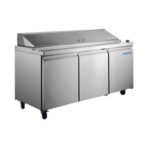 norpole 18 cu ft commercial refrigerator in stainless
