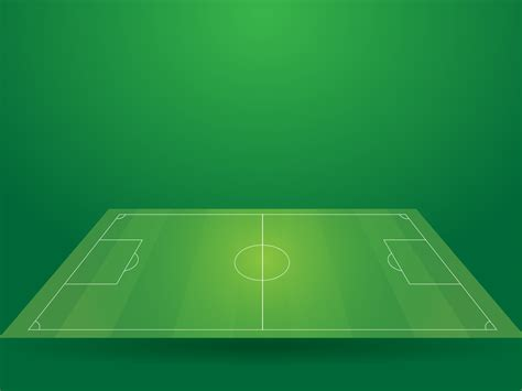 Football Sport Field Backgrounds Green Sports Templates Free Ppt Backgrounds And Powerpoint Football Field Powerpoint Template