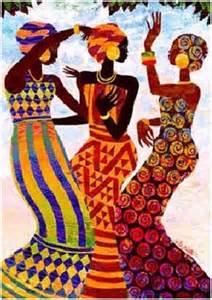 Cultura africana mujeres crianza y arte
