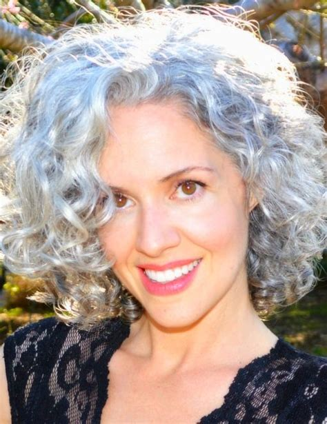 soft perm grey hair 1000 images about vlasy on pinterest medium length
