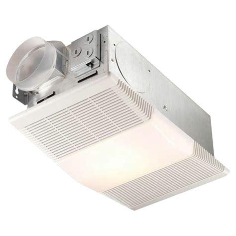 broan nutone rp bathroom ventilation fan  light  heater  ebay