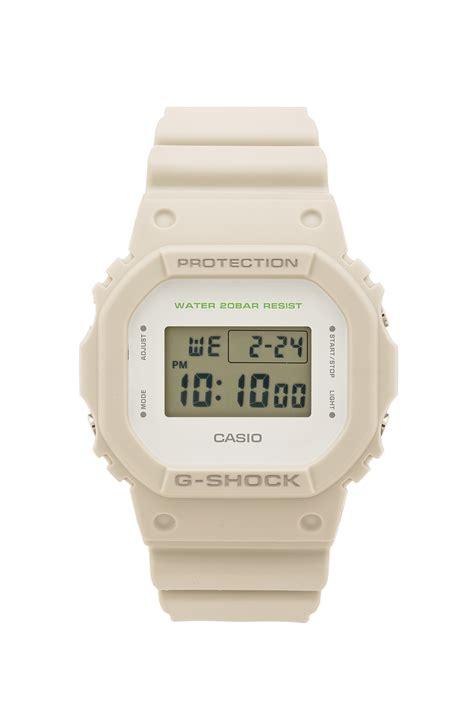 G Shock White g shock dw 5600 in white for lyst