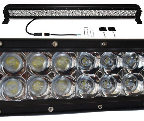 4x4 Led Light Bars 3d 180w 30 Quot Light Bar Led Spot Flood Combo Road 4x4 Roof Ranger Utv Sxs Rzr Oz Ideas For