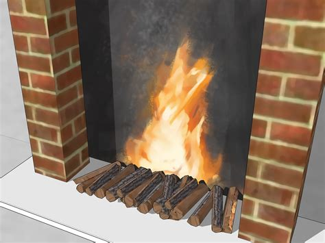 Artificial Fires For Fireplaces by 3 Ways To Make A Fireplace Wikihow