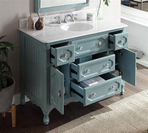 Bathroom Vanities Knoxville Tennessee Vintage Blue Knoxville 48 Inch Vanity Gd 1522bu 48