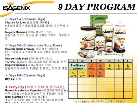 9 Day Detox Plan by Isagenix Associate Www Askjaykim