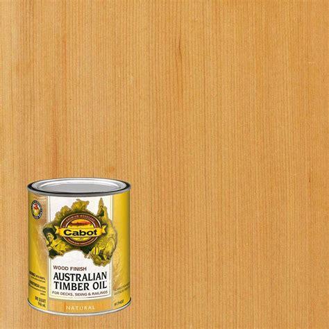 cabot  qt natural australian timber oil exterior wood