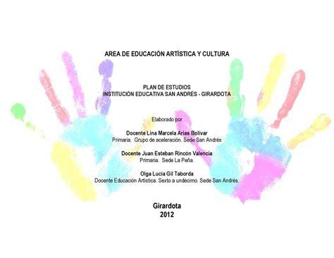 malla curricular educacion artistica y cultura calameocom calam 233 o malla curricular educacion artistica y cultura