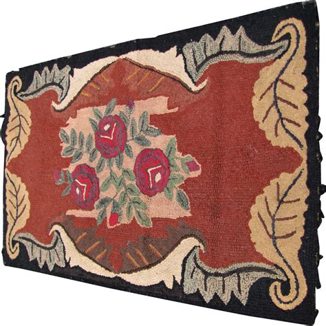 folk hooked rugs superb antique american folk hooked rug rr2699 from antique mission furniture on ruby
