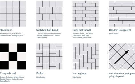 best of tile layout patterns for floors kezcreative com