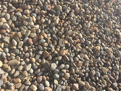 River Rock Pea Gravel Pea Gravel 3 8