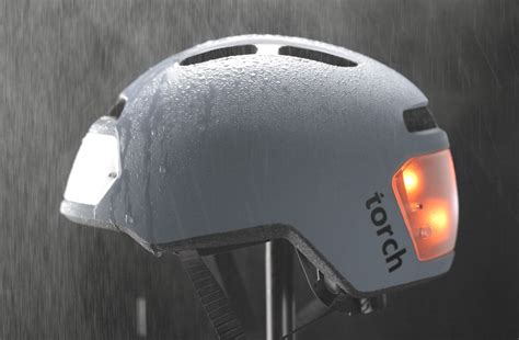 Bike Helmet Lights torch t2 bike helmet with integrated lights indiegogo