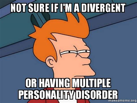 Personality Meme - multiple personality disorder