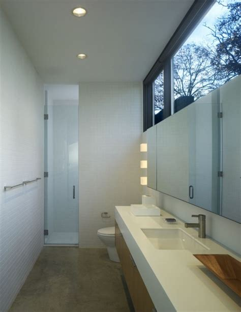 narrow bathroom windows lujan house in ocean view by robert m gurney architects