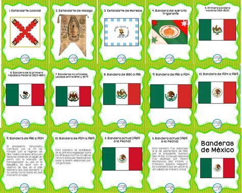 imagenes de las banderas historicas de mexico estupendos dise 241 os para ense 241 ar y aprender sobre la