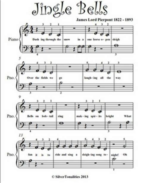oh bel testo jingle bells beginner piano sheet pdf by lord