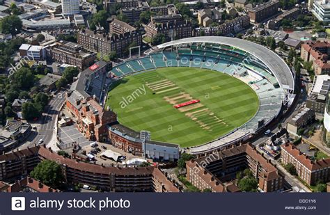 the oval aerial view of the oval cricket ground in kennington
