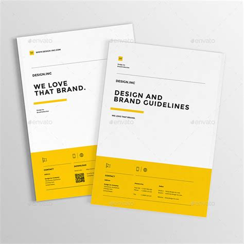 10 Exhaustive Collection Package Of Corporate Website Designs Brand Manual Template Free