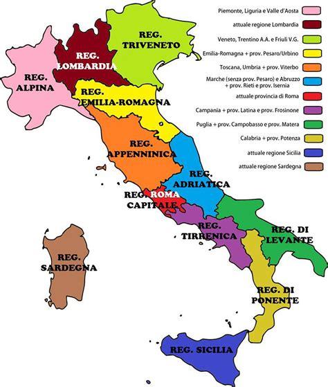 lavoro d italia riforma delle regioni marche unite all abruzzo niente